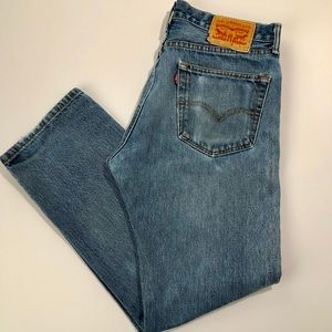 Levi's 505 Men's Regular Fit Jeans